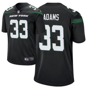 36c90a5d38b Men's Nike New York Jets 33 Jamal Adams Black New 2019 Vapor Untouchable  Limited Jersey
