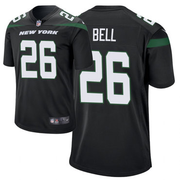 Youth Nike Jets 26 Le'Veon Bell Black New 2019 Vapor Untouchable Limited Jersey