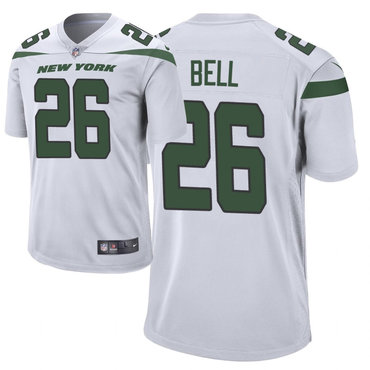 Youth Nike Jets 26 Le'Veon Bell White New 2019 Vapor Untouchable Limited Jersey