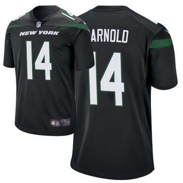 Youth Nike Jets 14 Sam Darnold Black New 2019 Vapor Untouchable Limited Jersey