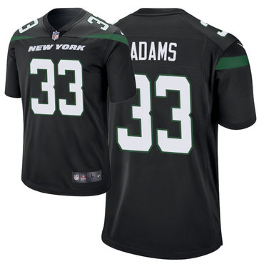 Youth Nike Jets 33 Jamal Adams Black New 2019 Vapor Untouchable Limited Jersey