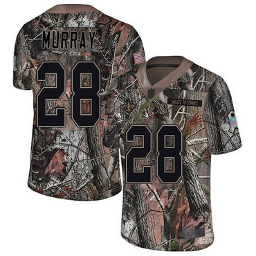 Men's New Orleans Saints #28 Latavius Murray Camo Men's Stitched Football Limited Rush Realtree Jersey