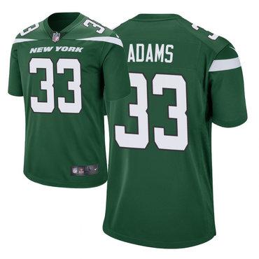Size XXXXXXL Men's Nike New York Jets 33 Jamal Adams Green New 2019 Vapor Untouchable Limited Jersey