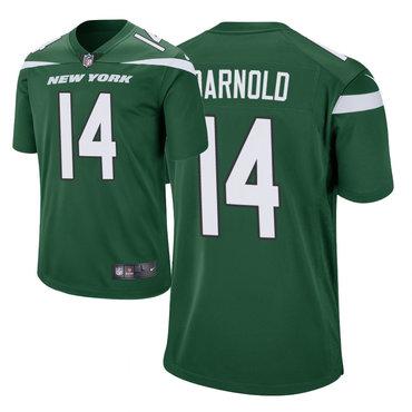 Size XXXXXXL Men's Nike New York Jets 14 Sam Darnold Green New 2019 Vapor Untouchable Limited Jersey