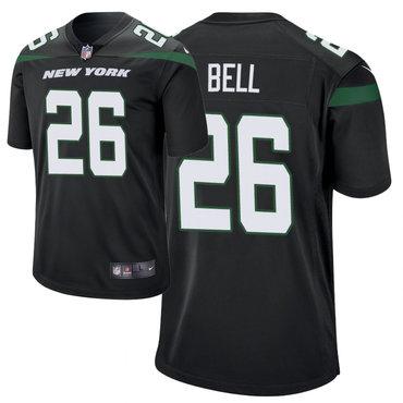Size XXXXXXL Men's Nike New York Jets 26 Le'Veon Bell Black New 2019 Vapor Untouchable Limited Jersey