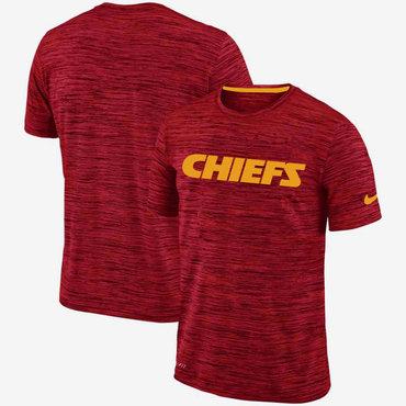Nike Kansas City Chiefs Red Velocity Performance T-Shirt