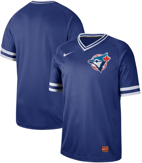 Blue Jays Blank Royal Authentic Cooperstown Collection Stitched Baseball Jersey