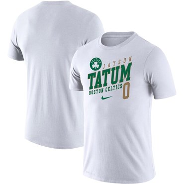 Jayson Tatum Boston Celtics Nike Player Performance T-Shirt White