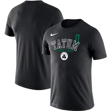 Jayson Tatum Boston Celtics Nike Player Performance T-Shirt Black