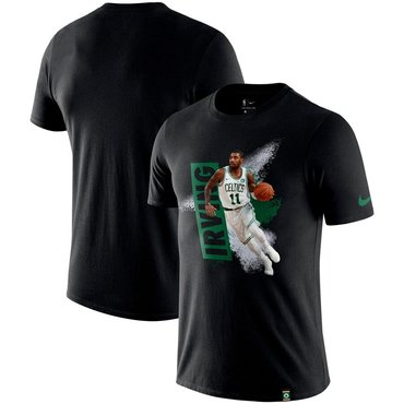 Kyrie Irving Boston Celtics Nike Mezzo Player Performance T-Shirt Black
