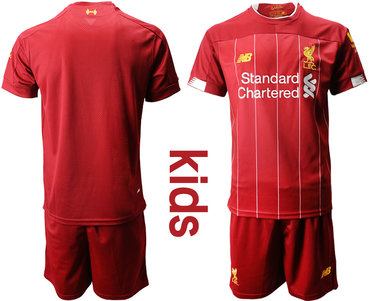 2019-20 Liverpool Youth Home Soccer Jersey