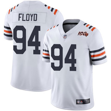 Bears #94 Leonard Floyd White Alternate Youth Stitched Football Vapor Untouchable Limited 100th Season Jersey