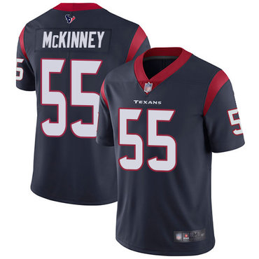 Texans #55 Benardrick McKinney Navy Blue Team Color Men's Stitched Football Vapor Untouchable Limited Jersey