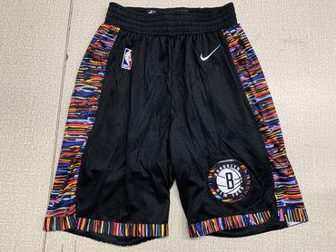 Nets Black City Edition Nike Swingman Shorts