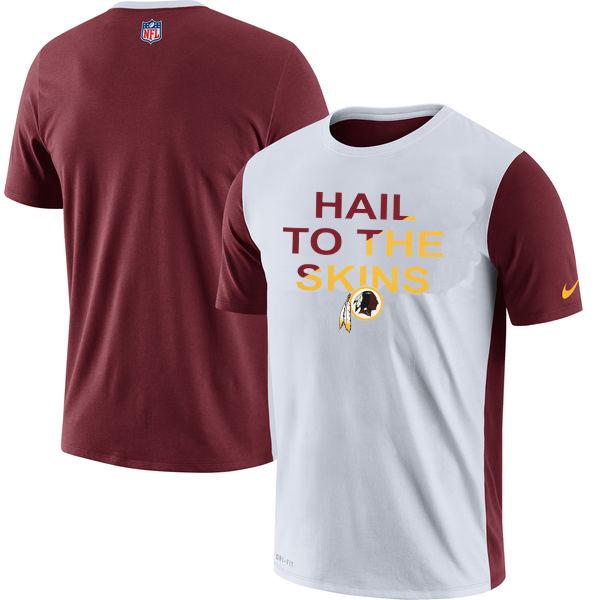 Washington Redskins Nike Performance T Shirt White