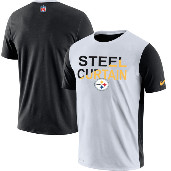 Pittsburgh Steelers Nike Performance T Shirt White