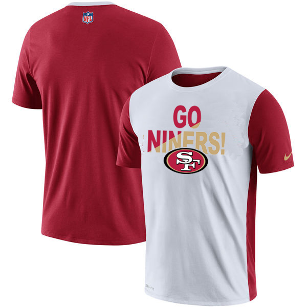 nike 49ers t shirt