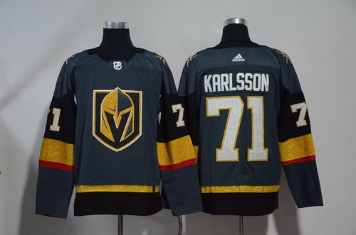 Vegas Golden Knights 71 William Karlsson Gray Adidas Jersey