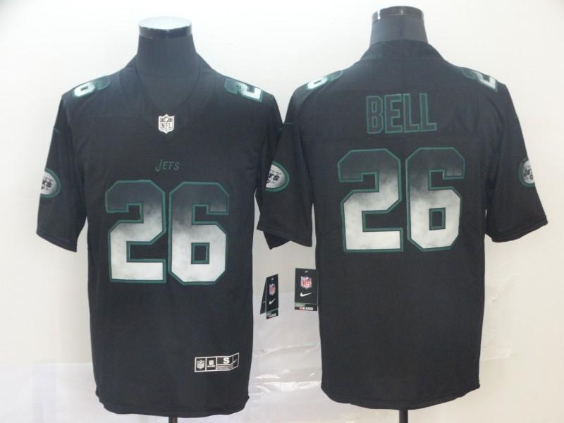 Nike Jets 26 Le'Veon Bell Black Arch Smoke Vapor Untouchable Limited Jersey