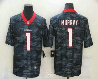 Men's Arizona Cardinals #1 Kyler Murray 2020 Camo Limited Stitched Nike NFL Jersey