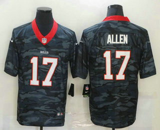 Men's Buffalo Bills #17 Josh Allen 2020 Camo Limited Stitched Nike NFL Jersey