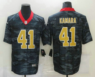 Men's New Orleans Saints #41 Alvin Kamara 2020 Camo Limited Stitched Nike NFL Jersey