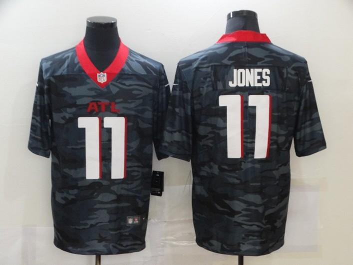 Men's Atlanta Falcons #11 Julio Jones 2020 Camo Limited Stitched Nike NFL Jersey