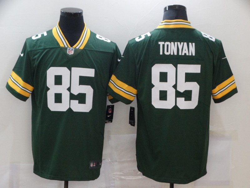 Men's Green Bay Packers #85 Robert Tonyan Green 2020 Vapor Untouchable Stitched NFL Nike Limited Jersey
