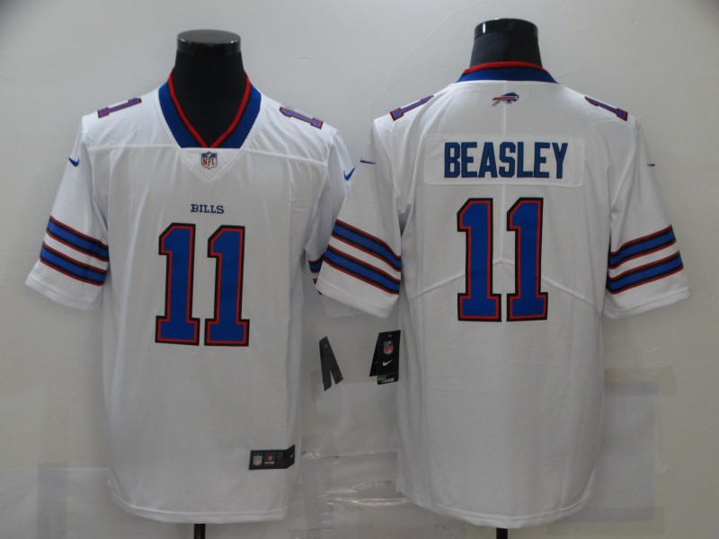 Men's Buffalo Bills #11 Cole Beasley White 2017 Vapor Untouchable Stitched NFL Nike Limited Jersey