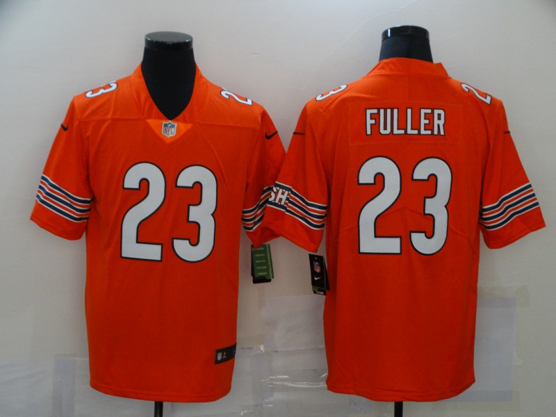 Men's Chicago Bears #23 Kyle Fuller Orange 2017 Vapor Untouchable Stitched NFL Nike Limited Jersey