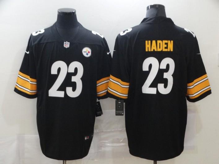 Men's Pittsburgh Steelers #23 Joe Haden Black 2017 Vapor Untouchable Stitched NFL Nike Limited Jersey