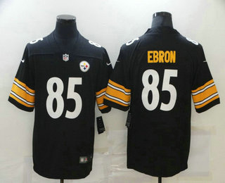 Men's Pittsburgh Steelers #85Eric Ebron Black 2017 Vapor Untouchable Stitched NFL Nike Limited Jersey
