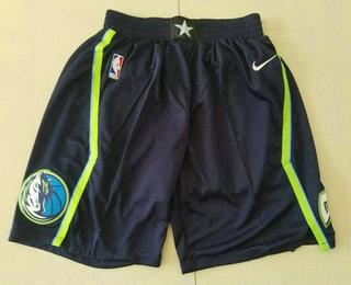 Men's Dallas Mavericks Blue 2020 Nike City Edition Swingman Shorts