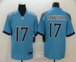 Men's Tennessee Titans #17 Ryan Tannehill Nike Light Blue New 2018 Vapor Untouchable Limited Jersey