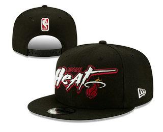 Miami Heats Snapback Ajustable Cap Hat YD 20-04-07-01