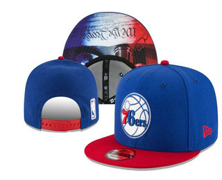 Philadelphia 76ers Snapback Ajustable Cap Hat YD 20-04-07-01