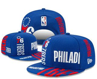 Philadelphia 76ers Snapback Ajustable Cap Hat YD 20-04-07-03