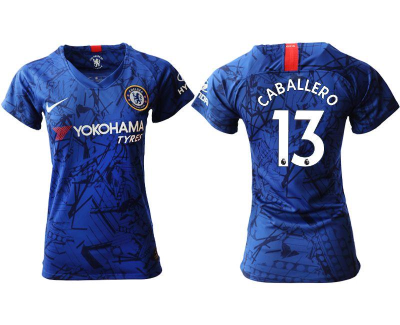 Women 2019-2020 club Chelsea home aaa version 13 blue Soccer Jerseys