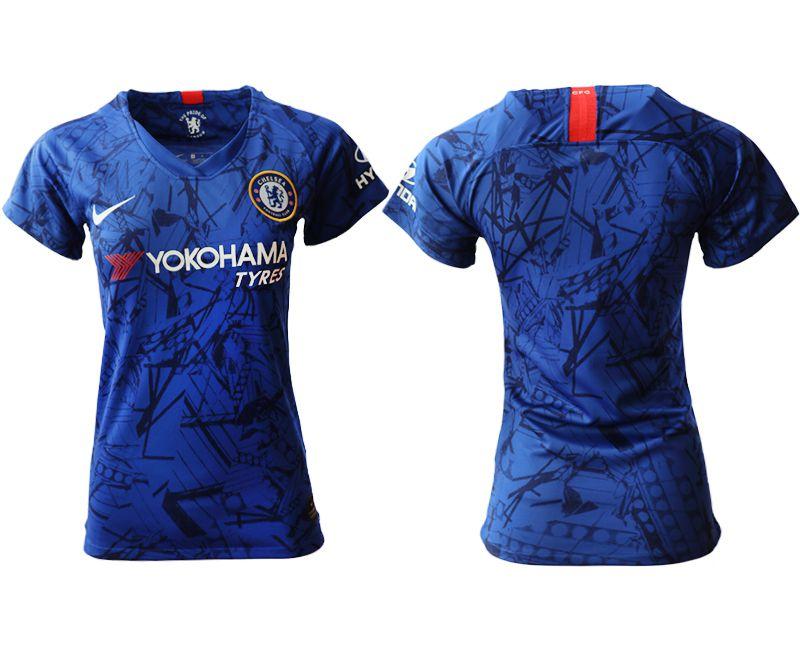 Women 2019-2020 club Chelsea home aaa version blue Soccer Jerseys