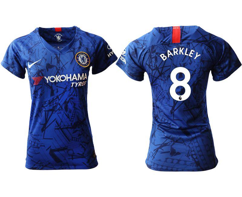 Women 2019-2020 club Chelsea home aaa version 8 blue Soccer Jerseys