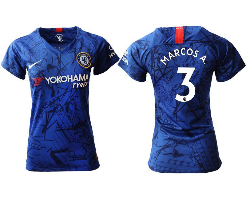 Women 2019-2020 club Chelsea home aaa version 3 blue Soccer Jerseys