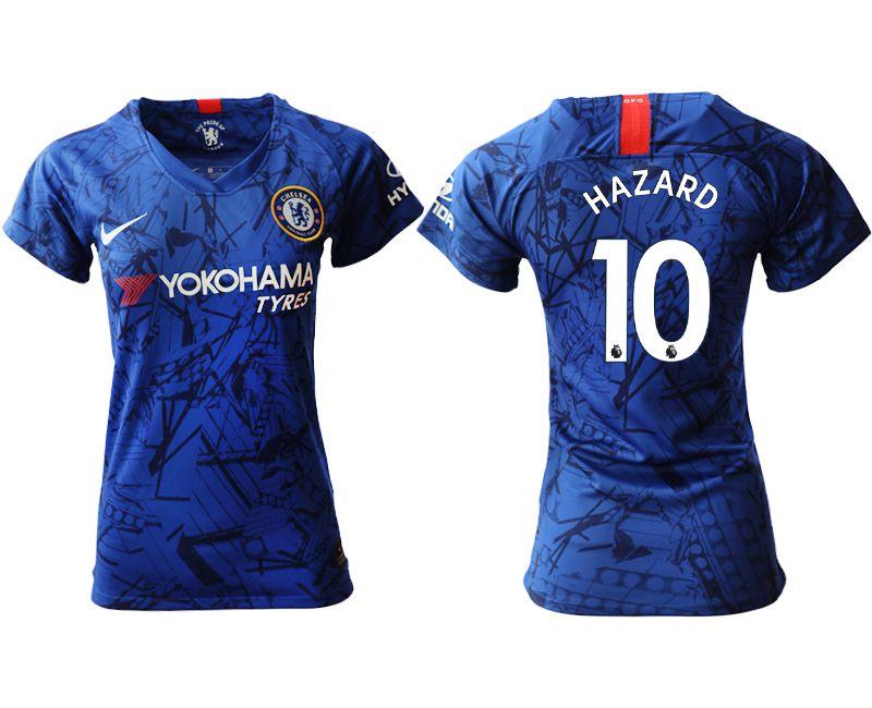 Women 2019-2020 club Chelsea home aaa version 10 blue Soccer Jerseys