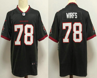 Men's Tampa Bay Buccaneers #78 Tristan Wirfs Gray 2020 NEW Vapor Untouchable Stitched NFL Nike Limited Jersey