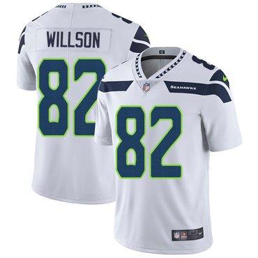 Youth Seattle Seahawks #82 Luke Willson White Nike Stitched Limited Jersey