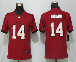 Women's Tampa Bay Buccaneers #14 Chris Godwin Red 2020 NEW Vapor Untouchable Stitched NFL Nike Limited Jersey