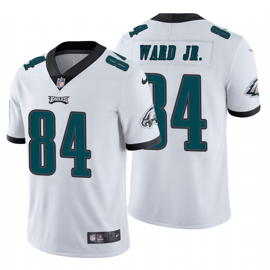 Men's Philadelphia Eagles #84 Greg Ward Jr.Vapor Untouchable Limited White Nike Jersey