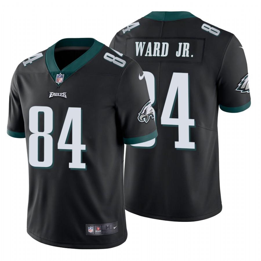 Men's Philadelphia Eagles #84 Greg Ward Jr.Vapor Untouchable Limited Black Nike Jersey