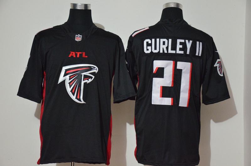 Nike Atlanta Falcons #21 Todd Gurley II Black Team Big Logo Vapor Untouchable Limited Jersey