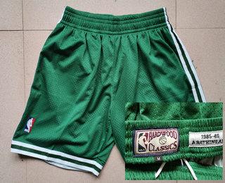 Men's Boston Celtics Green Hardwood Classics Soul Swingman Throwback Jersey