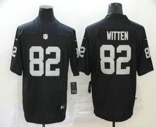 Youth Las Vegas Raiders #82 Jason Witten Black 2020 Vapor Untouchable Stitched NFL Nike Limited Jersey